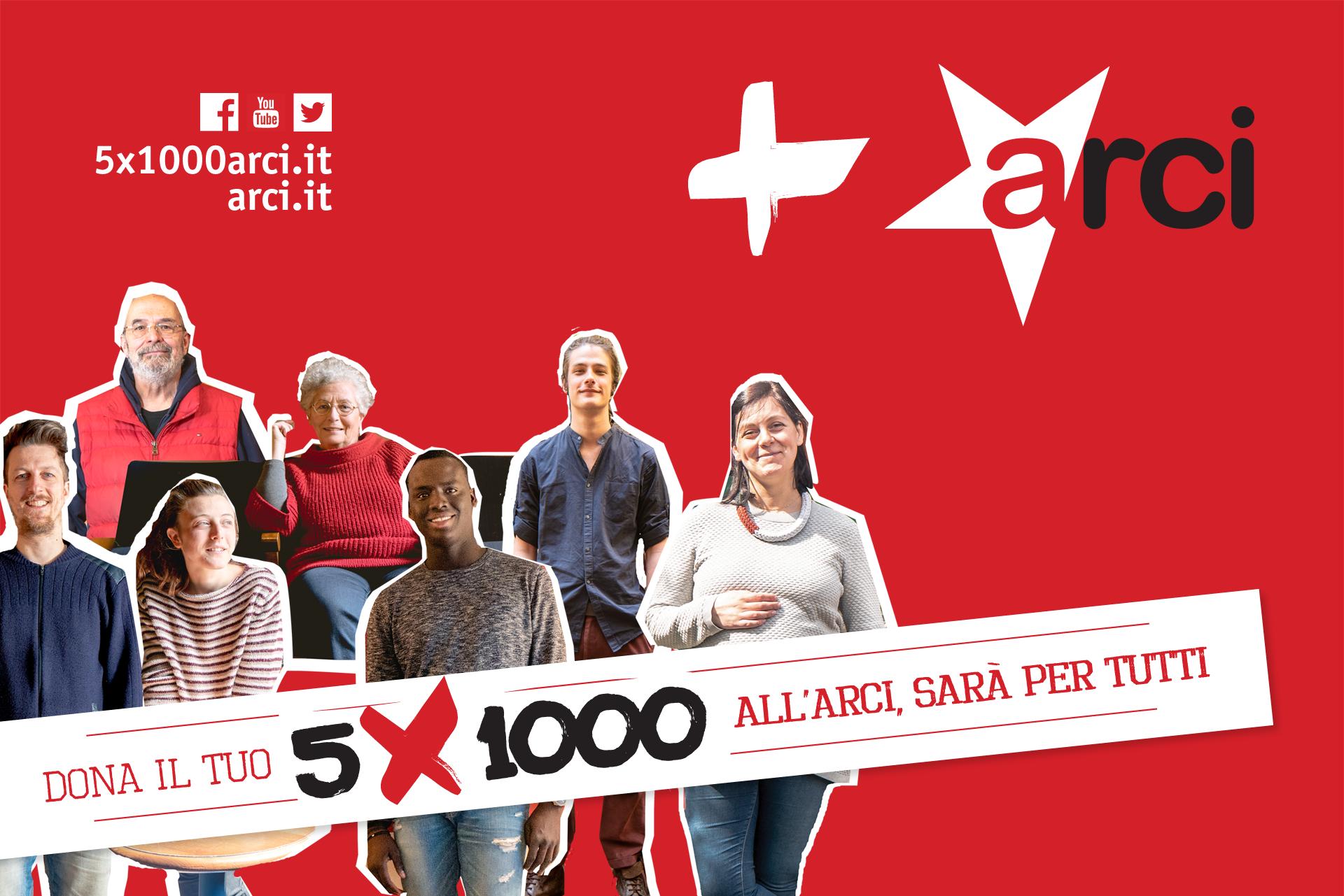 5X1000 all'Arci