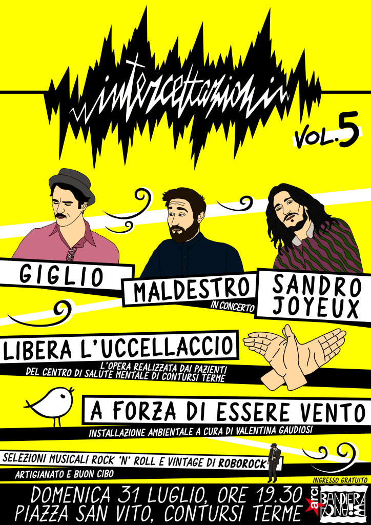 Intercettazioni Festival 5 - Locandina